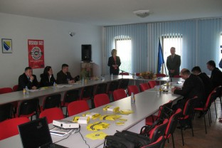 Roundtable on witness protection in Bosnia and Herzegovina, SIPA HQ