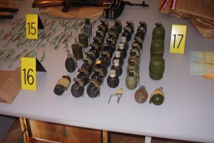 Seizure of weapons in Central Bosnia, press conference