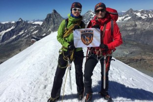 SIPA Police Officials Took Part in Alpinist Expedition