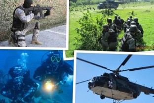 Joint Exercise of SIPA Special Support Unit and Armed Forces B&H